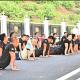 ملك ماليزيا يؤدي التمارين الصباحية