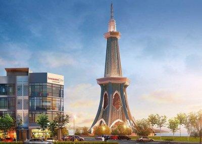 اعلى برج في لنكاوي التابع للدكتور مهاتير (2)