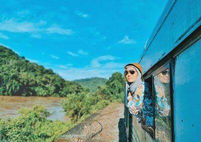 اقدم قطار بخاري بصباح نصف يوم من المتعة (14)