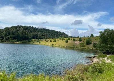 التنزه عند بحيرة Rimba Bayu (12)