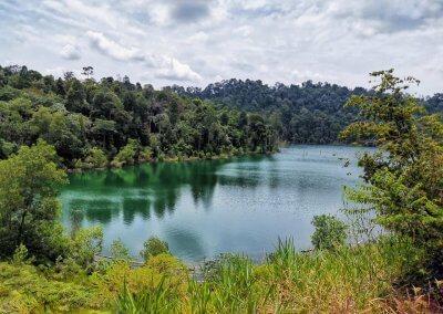 التنزه عند بحيرة Rimba Bayu (13)