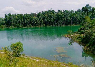 التنزه عند بحيرة Rimba Bayu (14)