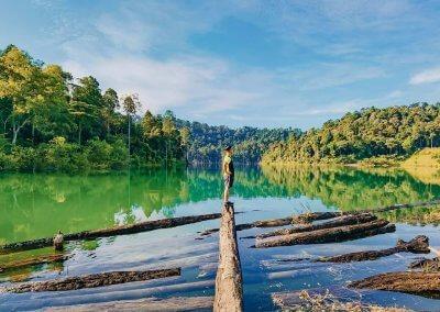 التنزه عند بحيرة Rimba Bayu (19)