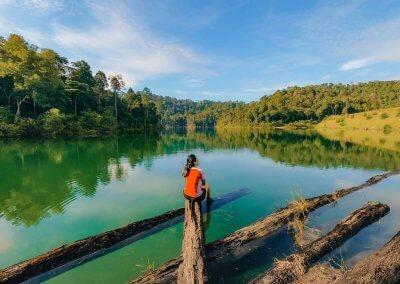 التنزه عند بحيرة Rimba Bayu (20)