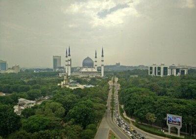المسجد الازرق في شاه علم ماليزيا (10)
