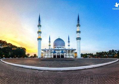 المسجد الازرق في شاه علم ماليزيا (12)