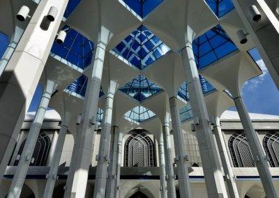 المسجد الازرق في شاه علم ماليزيا (18)