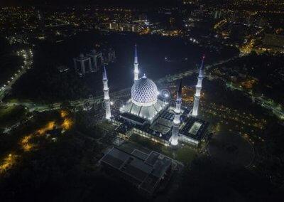 المسجد الازرق في شاه علم ماليزيا (21)