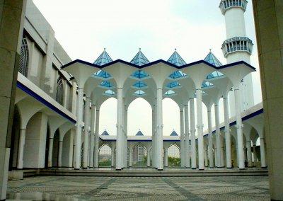 المسجد الازرق في شاه علم ماليزيا (22)