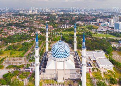 المسجد الازرق في شاه علم ماليزيا (24)