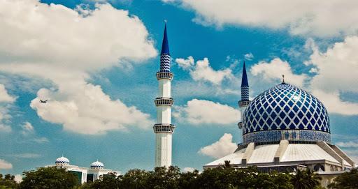 المسجد الازرق في شاه علم ماليزيا (28)
