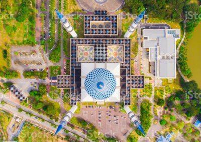 المسجد الازرق في شاه علم ماليزيا (3)