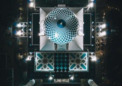 المسجد الازرق في شاه علم ماليزيا (7)
