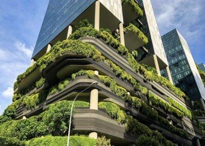 حديقة بابل المعلقة في بارك رويال سنغافورة (10)