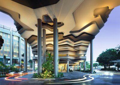 حديقة بابل المعلقة في بارك رويال سنغافورة (11)