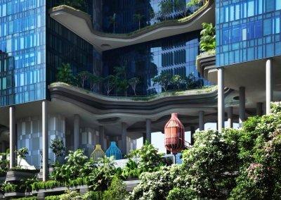 حديقة بابل المعلقة في بارك رويال سنغافورة (31)