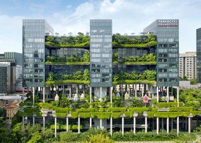 حديقة بابل المعلقة في بارك رويال سنغافورة (39)