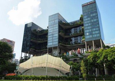 حديقة بابل المعلقة في بارك رويال سنغافورة (41)