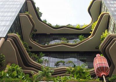 حديقة بابل المعلقة في بارك رويال سنغافورة (43)