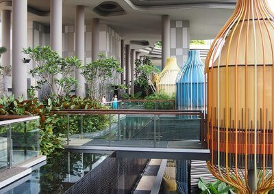 حديقة بابل المعلقة في بارك رويال سنغافورة (44)