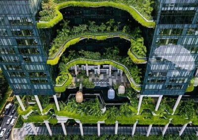 حديقة بابل المعلقة في بارك رويال سنغافورة (6)