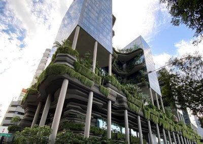 حديقة بابل المعلقة في بارك رويال سنغافورة (7)