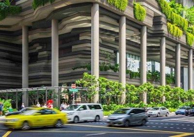 حديقة بابل المعلقة في بارك رويال سنغافورة (9)