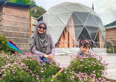 خيمة في مرتفعات كاميرون (19)