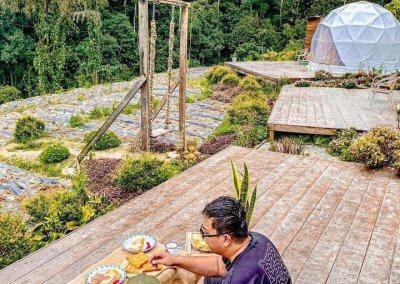 خيمة في مرتفعات كاميرون (2)