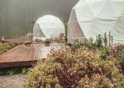 خيمة في مرتفعات كاميرون