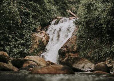 شلال النهر الثاني في باهانج Sungai Dua (3)
