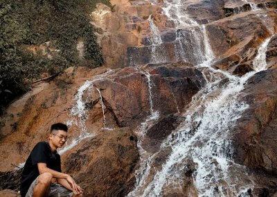 شلال نهر الغزلان المخفي في جزيرة بينانج (11)