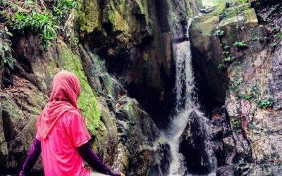 شلال نهر الغزلان المخفي في جزيرة بينانج