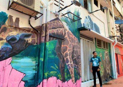 ظاهرة انتشار فن الشارع في ماليزيا (1)