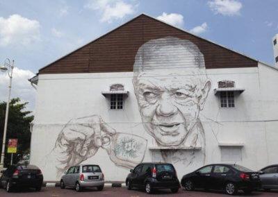 ظاهرة انتشار فن الشارع في ماليزيا (12)