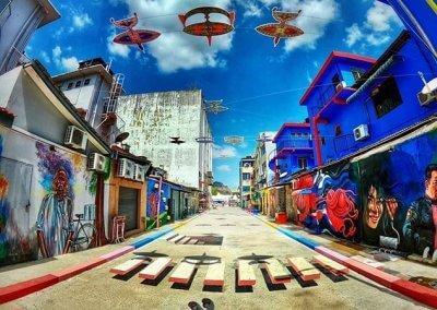 ظاهرة انتشار فن الشارع في ماليزيا (13)