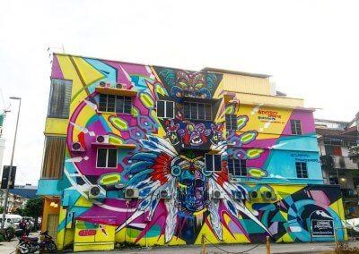 ظاهرة انتشار فن الشارع في ماليزيا (14)