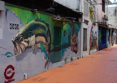 ظاهرة انتشار فن الشارع في ماليزيا (16)