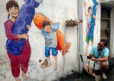 ظاهرة انتشار فن الشارع في ماليزيا (18)