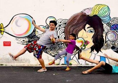 ظاهرة انتشار فن الشارع في ماليزيا (22)