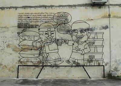 ظاهرة انتشار فن الشارع في ماليزيا (6)
