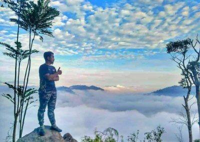 لمحبي التصوير من فوق الغيوم