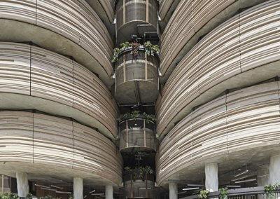 مبنى الخلية في جامعة نانيانغ السنغافورية (11)