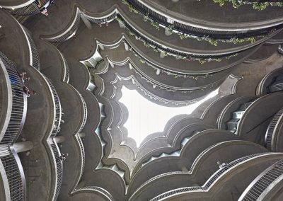 مبنى الخلية في جامعة نانيانغ السنغافورية (15)