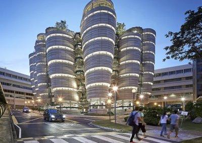 مبنى الخلية في جامعة نانيانغ السنغافورية (20)