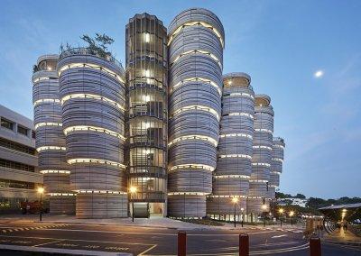 مبنى الخلية في جامعة نانيانغ السنغافورية (28)