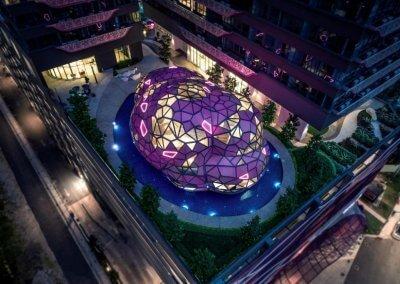 مجمع آرت بلص السكني في امبانج Arte Plus (15)