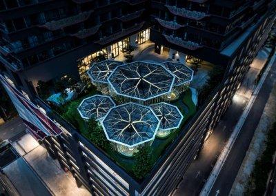 مجمع آرت بلص السكني في امبانج Arte Plus (18)