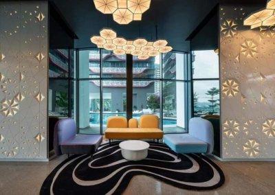 مجمع آرت بلص السكني في امبانج Arte Plus (33)