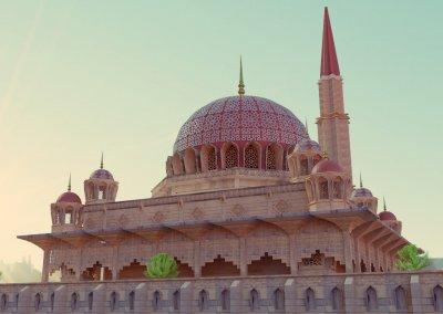 مسجد بوترا في ماليزيا (15)